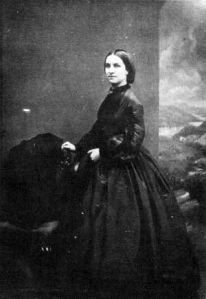 Sarah Ballenden died before photography was widely available. No known pictures exist of her. This is a photo of her daughter, whom people said looked a lot like her mother.